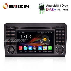 "Erisin ES3661L 7"" Android 8.1 DAB+ GPS for Mercedes ML/GL Class W164 X164 Car Stereo Wifi TPMS Radio BT"