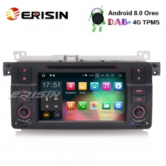 "Erisin ES7862B 7"" Android 8.0 Car Stereo GPS DAB+ 4G Wifi SWC OBD DTV DVR BMW 3er E46 Rover75 MG ZT"