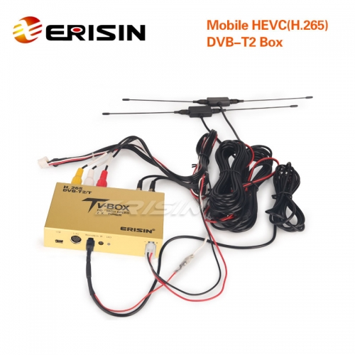 Erisin ES338-YB Touch Screen Control Car Mobile Digitale HDTV DVB-T2 Receiver