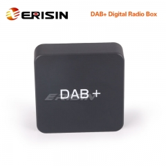 Erisin ES354 DAB+ Digital Radio Box Aerial Amplified Antenna for Android 6.0/7.1/8.0 Stereos