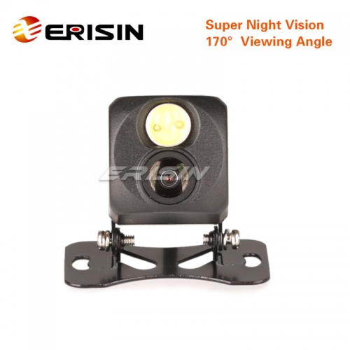 Erisin ES488 Super Night Vision Rear View Camera Guard line 170° NTSC 520 TV Lines