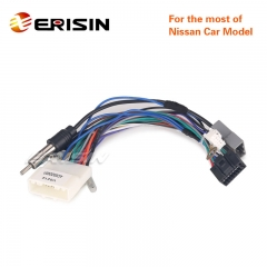 Erisin Nissan-Cable-A 2 Din Unversal Car Power Cable