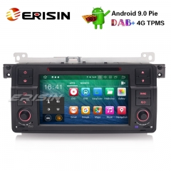 "Erisin ES7962B-64 7"" Android 9.0カーステレオGPS DAB + CD Bluetooth DTV DVR SD BMW E46 M3 Rover75 MG ZT"