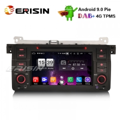 "Erisin ES7746B 7"" 8 コアAndroid 9.0 BMW E46318320325 M3 Rover75 MG ZTカーステレオGPS DAB + CD DVD BT"