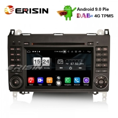 "Erisin ES7702B 7"" DAB + 4G Android 9.0 Car DVD Player GPS for Mercedes A / B Class Sprinter Vito Viano Crafter"