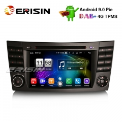 "Erisin ES7710E 7"" Android 9.0 DAB + Wifi Autoradio GPS DVD 4G for Mercedes Benz E / CLS / G Klasse W211 W219"