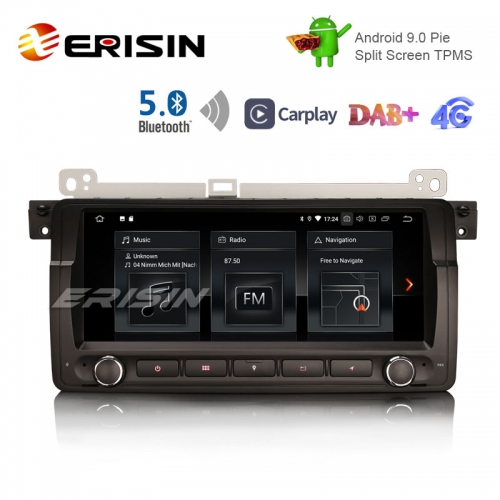 "Erisin ES1889B 8.8 ""E9.0向けAndroid 9.0パイOSカーTPMS 4G GPS DAB + BT5.0 Carplay"