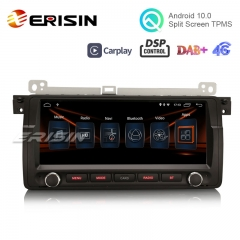 "Erisin ES3006B 9"" Android 10.0 Car Radio Stereo DAB+ DSP BT 4G for BMW 3 Series 325 E46 M3 Rover75 MG ZT"