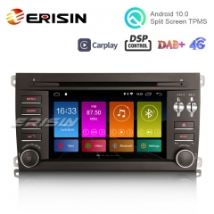 "Erisin ES3014P 7"" Android 10.0 Car Stereo Radio GPS SatNav DAB DSP DVD Player CarPlay WiFi 4G for Porsche Cayenne"