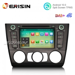 "Erisin ES5140B 7"" Quad-Core Android 10.0 Car DVD Player GPS DAB+ 4G for BMW E81 E82"