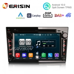 "Erisin ES8760PB 7"" DSP Android 10.0 Car DVD CarPlay & Auto GPS 4G DAB+ for Opel Vauxhall Vivaro Astra Corsa Zafira"