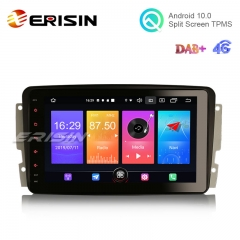 "Erisin ES2763C 8"" Android 10.0 Car Multimedia with GPS WiFi TPMS DVR DAB DSP CarPlay+ for Benz W203 Vito"