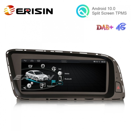 "Erisin ES2605Q 8.8"" Android 10.0 Car Multimedia Player for Audi Q5 GPS WiFi 4G TPMS DVR DAB+ CarPlay+"